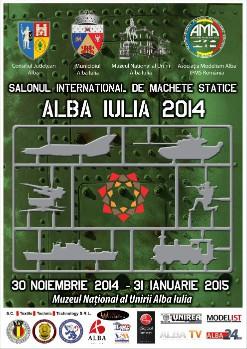 Salonul International de Machete Statice Alba Iulia 2014 - editia a IX-a